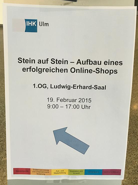 """Erfolgreiche IHK-Veranstaltung beim """"E-Commerce Day"""" in Ulm"""